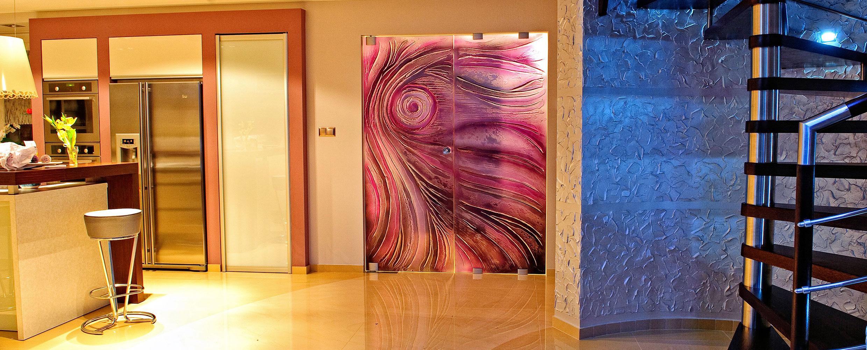 Exkluzívne celosklenené dvere